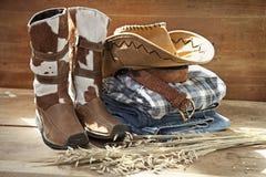 Cowboy Still life Stock Image