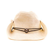 Cowboy straw hat Stock Image
