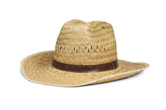 Cowboy straw hat Stock Photography