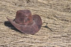Cowboy style, Hat Royalty Free Stock Photos
