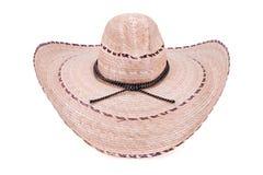 Cowboy Style Sombrero Hat Stock Photo