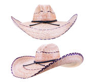 Cowboy Style Sombrero Hats Royalty Free Stock Images