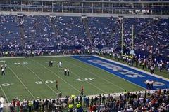 Cowboy-Texas-Stadion-Endzone Lizenzfreie Stockfotos