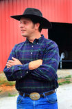 Cowboy tipico Immagini Stock