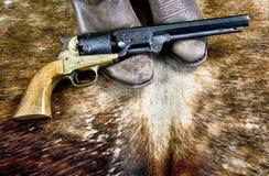 Cowboy tout le temps image libre de droits