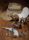 Cowboy Toys. Royalty Free Stock Images