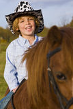 Cowboy In Training Stock Image