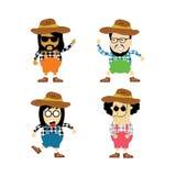 Cowboy vector cartoon Stock Photo