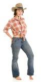 Cowboy woman. Stock Photography
