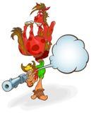 Cowboy:so you want to be a tough guy, huh? Royalty Free Stock Image