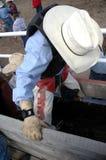 cowboybarn royaltyfria foton