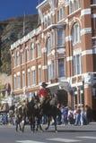 Cowboyen Days ståtar i Durango, Co Royaltyfri Foto