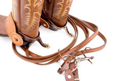 Cowboygang Lizenzfreies Stockfoto