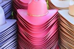 Cowboyhüte Stockfotografie
