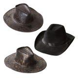 Cowboyhattar Arkivfoto