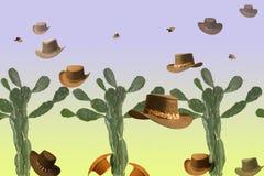 Cowboyhoeden Royalty-vrije Stock Afbeeldingen