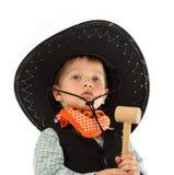 Cowboykind royalty-vrije stock fotografie