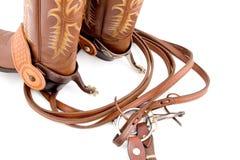 cowboykugghjul Royaltyfri Foto