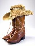 Cowboyliv Royaltyfri Bild