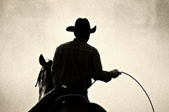 cowboyrodeo Royaltyfria Bilder