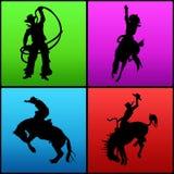 Cowboys Imagem de Stock
