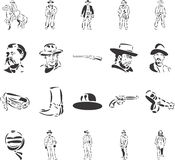 Cowboys Royalty Free Stock Images