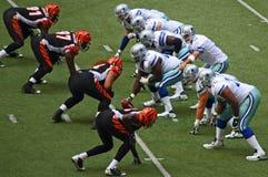 Cowboys Bengals Romo Zeigen Lizenzfreie Stockfotografie