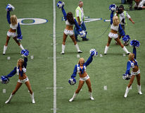Cowboys Cheerleaders and Camera Men