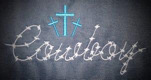 Cowboys chrétiens Photographie stock libre de droits