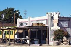 Cowboys coffee shop Royaltyfria Foton