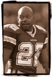 Cowboys d'Emmitt Smith Dallas images libres de droits