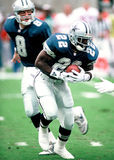 Cowboys de Emmitt Smith Dallas Foto de Stock