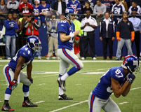 Cowboys Eli Manning Royalty-vrije Stock Afbeelding