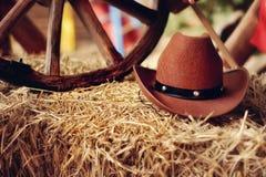 Cowboys hatt Arkivbilder