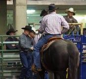 Cowboys met Cowboy Hats Stock Fotografie
