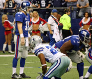 Cowboys NY Giants Manning Stock Photography