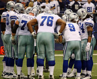 Cowboys Offensive Huddle
