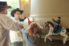 Cowboys on the range Royalty Free Stock Photography