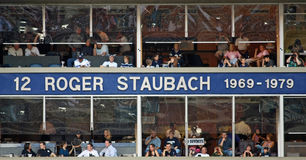 Cowboys Ring of Honor Roger Staubach Royalty Free Stock Image