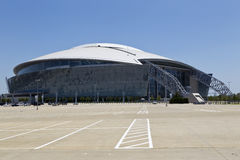 Cowboys Stadium. ARLINGTON, TEXAS - JUNE 13: Dallas Cowboy Field, home of the NFL Cowboys, on June 13, 2011 in Arlington, Texas. This state of the art facility Royalty Free Stock Photography