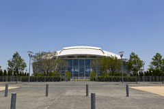 Cowboys Stadium. ARLINGTON, TEXAS - JUNE 13: Dallas Cowboy Field, home of the NFL Cowboys, on June 13, 2011 in Arlington, Texas. This state of the art facility Stock Photography
