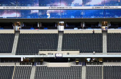 Cowboys Stadium Broadcast Booth royalty free stock photos