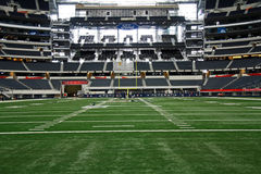 Cowboys Stadium From End Zone Stock Images