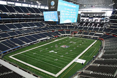 Cowboys Stadium From Luxury Suite Royalty Free Stock Images