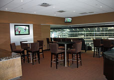 Cowboys Stadium Super Bowl Luxury Suite Stock Image