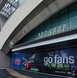 Cowboys Stadium Super Bowl XLV Pro Shop Royalty Free Stock Photography