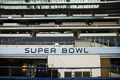 Cowboys Stadium Super Bowl XLV Stands Stock Images