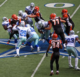 Cowboys Tackle Bengals Stock Photo