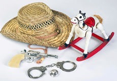 Cowboys Toys. Stock Image