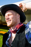 cowboystående Royaltyfria Bilder